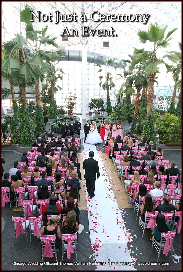 Navy Pier Chicago Wedding Ceremony