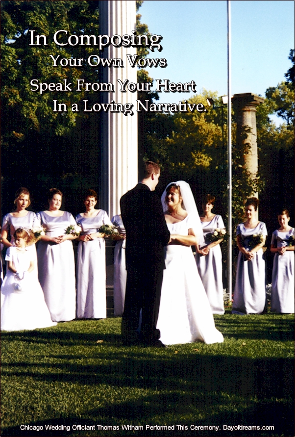 Wedding Ceremony Vows