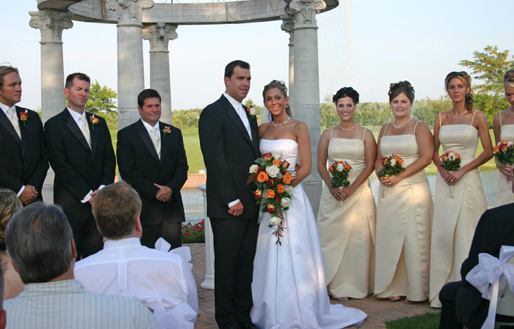Bridal Party Facing Forward