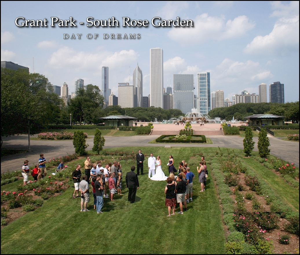 Grant Park South Rose Garden Chicago Park District