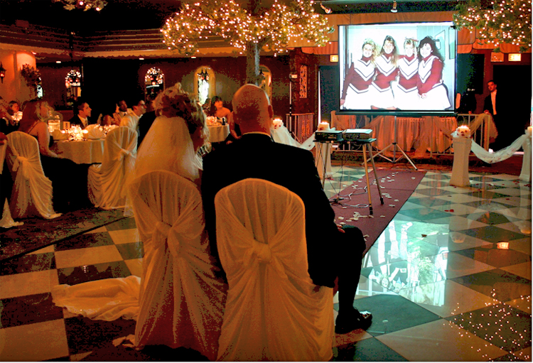 Wedding Ceremony Photo Montage