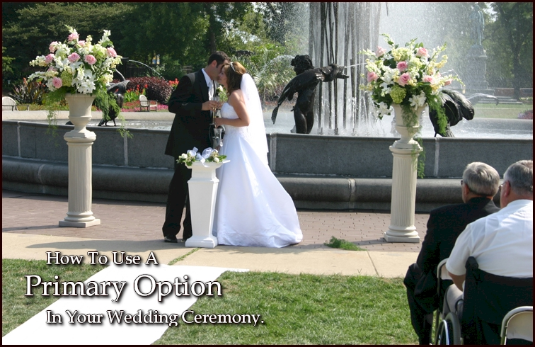 Wedding Ceremony Primary Option