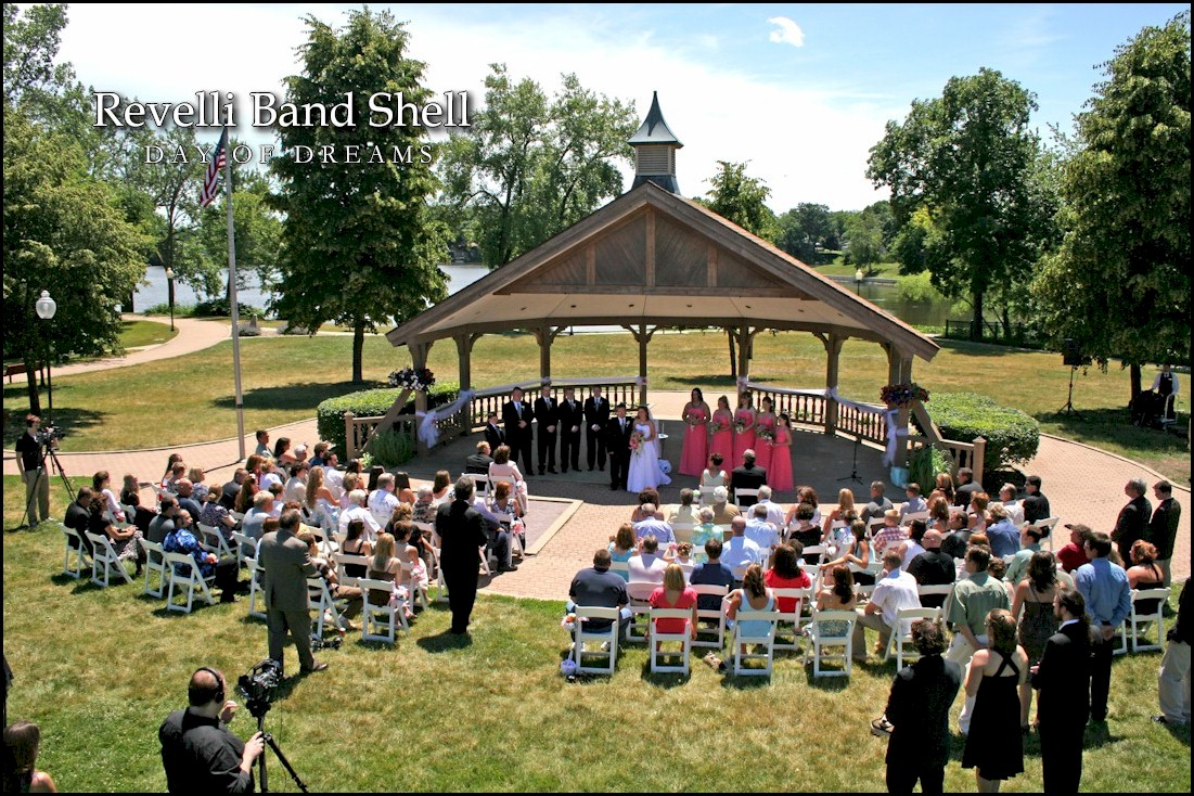 Revelli Band Shell Hobart Indiana