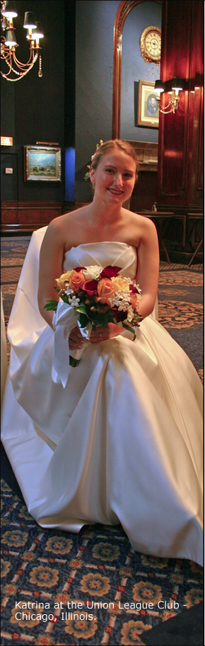 Bride at the Union League Club
