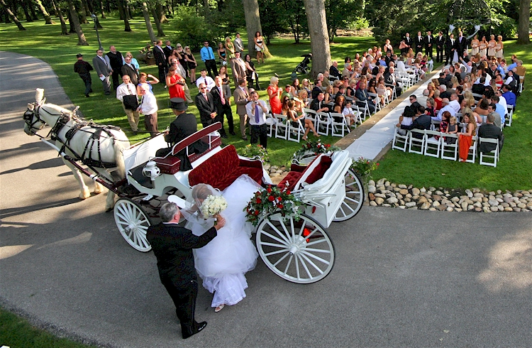 Chicago Wedding Carriage